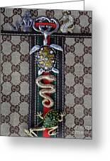 Gucci Monogram With Jewelry 3 Greeting Card
