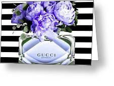 Gucci Perfume Violet Greeting Card