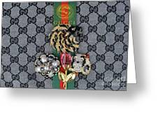 Gucci With Jewelry Greeting Card