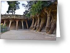 Guell Style Greeting Card