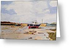 Guernsey Boats Greeting Card