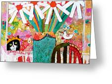Guess Who Is Coming To Dinner Greeting Card