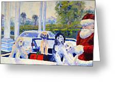 Guess Who's Coming To Dinner Greeting Card