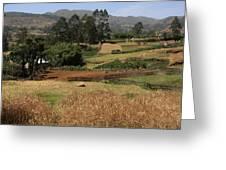 Guge Mountain Range Southern Ethiopia Greeting Card