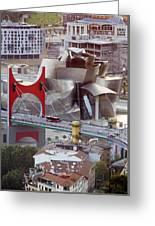 Guggenheim Bilbao Museum II Greeting Card