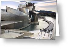 Guggenheim Bilbao Museum Greeting Card