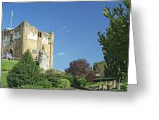 Guildford Castle Greeting Card