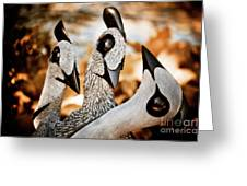 Guineafowl Family Greeting Card