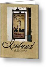 Guinness As Usual Athlone Ireland Greeting Card