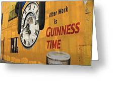 Guinness Beer 2 Greeting Card