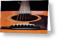 Guitar 12 Greeting Card