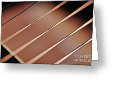 Guitar Abstract 2 Greeting Card