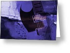 Guitar Art 001a Greeting Card