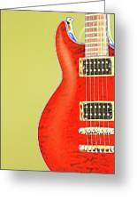 Guitar Pic Greeting Card