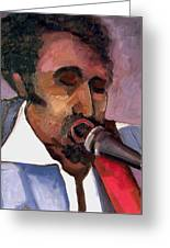 Guitar Tommy Parker Greeting Card