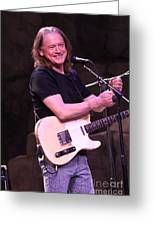 Guitarist Robben Ford Greeting Card