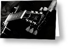 Guitarist Greeting Card