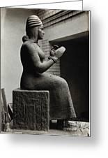 Gula, Mesopotamian Goddess Of Healing Greeting Card