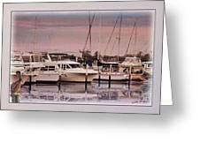 Gulf Coast Dock Greeting Card