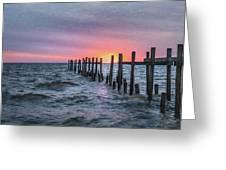 Gulf Coast Sunrise Greeting Card
