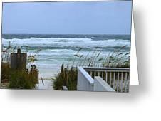 Gulf Coast Waves Greeting Card
