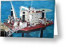 Gulf Marine Services - Naashi Greeting Card