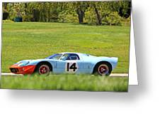 Gulf Mirage Ford Gt40 Greeting Card