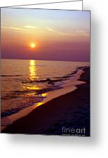 Gulf Of Mexico Sunset Greeting Card by Thomas R Fletcher