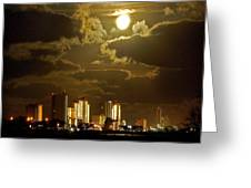 Gulf Shores Night Skys Greeting Card