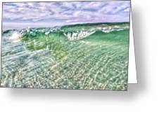 Gulf Waves Greeting Card