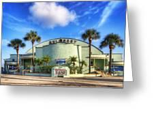 Gulfport Casino Greeting Card by Tammy Wetzel