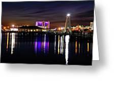 Gulfport Lighthouse - Mississippi - Harbor Greeting Card