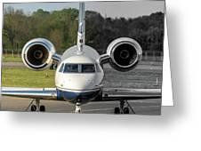 Gulfstream Aerospace G500 I-delo Frontal.nef Greeting Card