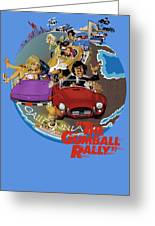 Gumball Rally Greeting Card