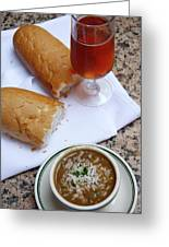 Gumbo Lunch Greeting Card