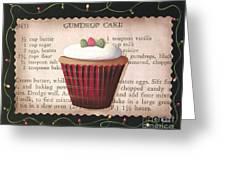Gumdrop Cupcake Greeting Card