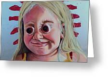 Gummy Eyes Swedish Fish Greeting Card