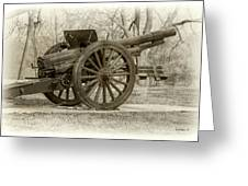 Gun At Fort Howard Greeting Card