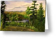 Gunflint Overlook Greeting Card