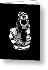 Gunman T-shirt Greeting Card