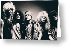 Guns N' Roses - Band Portrait Greeting Card