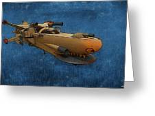 Gunship Greeting Card