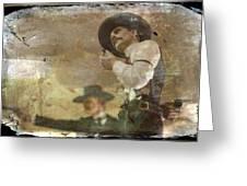 Gunslinger II Doc Holliday Greeting Card