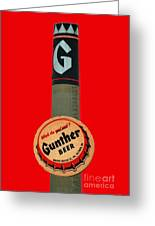 Gunther Beer Greeting Card