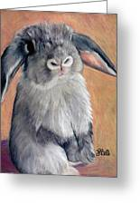 Gus Greeting Card by Laura Bell