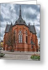 Gustav Adolf Church Facade Greeting Card