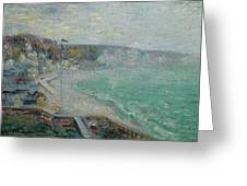 Gustave Loiseau 1865 - 1935 Beach Fecamp Greeting Card