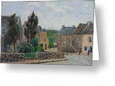 Gustave Loiseau 1865 - 1935 Rue A St. Lunaire Greeting Card