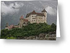Gutenberg Castle Greeting Card by Yair Karelic