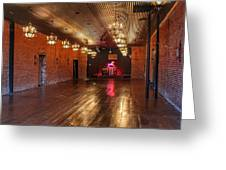 Guthrie Dance Hall  Greeting Card